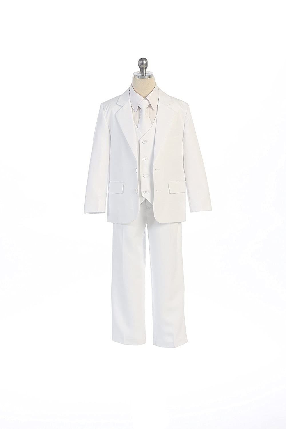 COLE Boys Suit with Shirt and Vest (5-Piece)