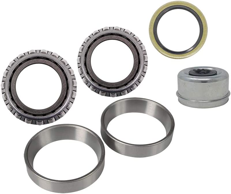 MPBK2K1116EZ Trailer Bearing Repair Kit for 1-1//16 Inch Straight Spindles Includes E-Z Lube Cap with Plug 1 Set Included