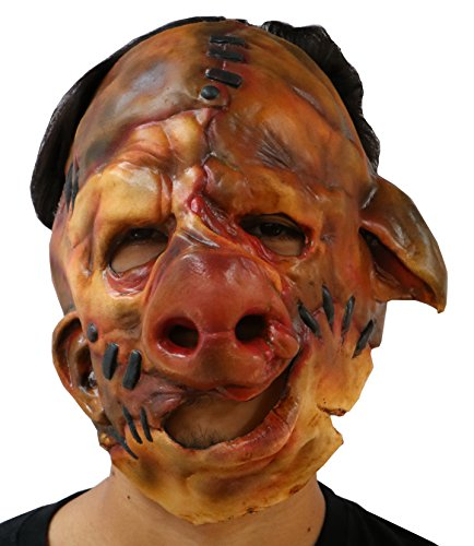 Halloween Latex Pig face mask (Pork C.H.O.P.S) Adult Halloween Mask FS007