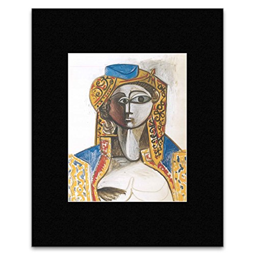 Picasso Blue Period Costume (Pablo Picasso - Jacqueline In Turkish Costume Mini Poster - 40.5x30.5cm)