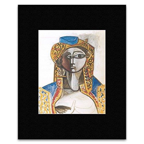 Pablo Picasso - Jacqueline In Turkish Costume Mini Poster - 40.5x30.5cm - Picasso Blue Period Costume