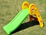 コンパクトになり持ち歩ける 組立式 折畳み滑り台 握りやすい手すりでお子様にも安心