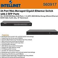 INTELLINET 560917 24 Port WebMnged Gigabit Switc