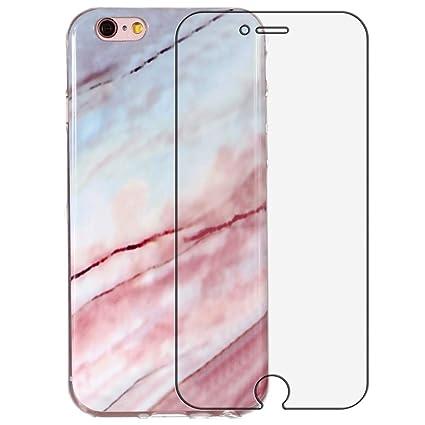 Yalixin iPhone 7 mármol móvil, iPhone 8 Teléfono Móvil ...