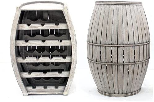 Teton Home AF-056 Wood Wine Cabinet