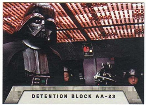 2016 Topps Star Wars Rogue One Mission Briefing Death Star #5 Detention Block AA-23