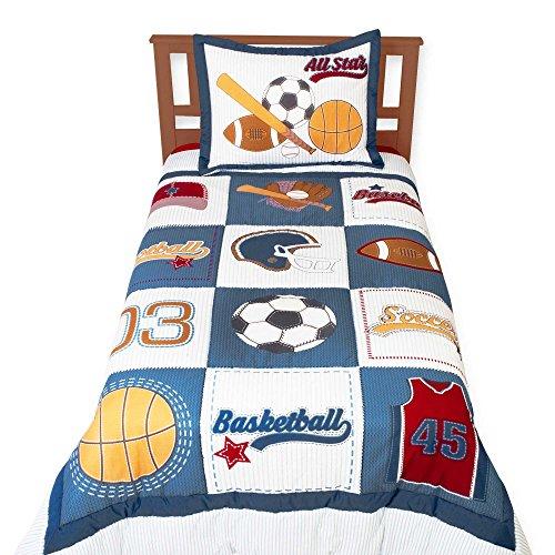Little Sportsman 3 Piece Full/Queen Bedding Set by Sumersault