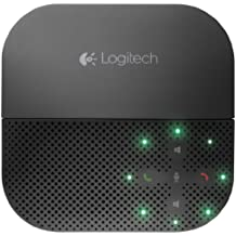 Logitech 980000741 P710e Mobile Speakerphone, Black