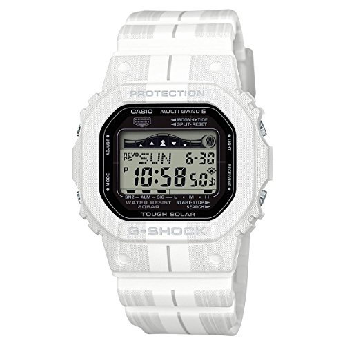 (Casio GWX5600WA-7 Mens Watch White 48.9mm G-Shock)