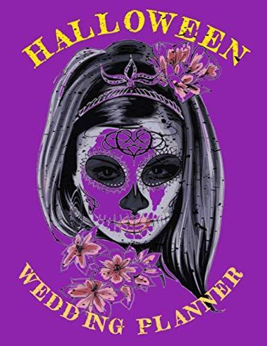 Halloween Wedding Planner: 8.5x11