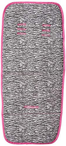 Capa Para Moises - Zebra com Pink - Multimarcas sem Bordado, Alan Pierre Baby, Zebra com Pink