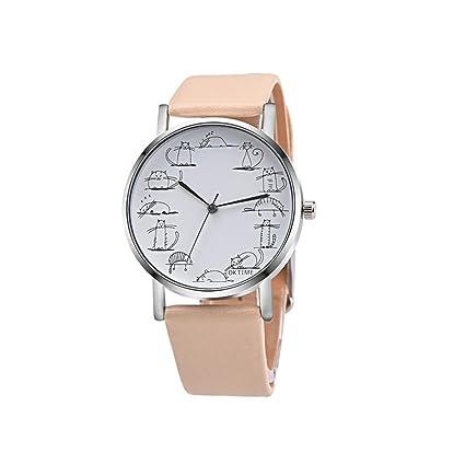 Amlaiworld Reloje Hombres Mujer reloj deportivo Reloj de pulsera de cuarzo de aleación de