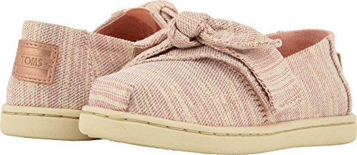 (TOMS Girl's, Alpargata Slip on Shoes Rose 11 M)