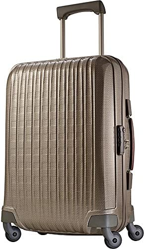 Hartmann Innovaire Global Carry On Spinner, Ivory Gold, One Size