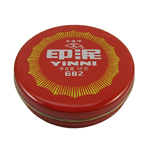 Calligraphy Stamp Seal Painting Red Ink Paste Chinese Yinni Pad 36g Best Price