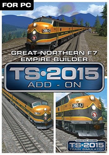 Great Northern F7 'Empire Builder' Loco Add-On [Online Game Code] (Burlington Dining Set)