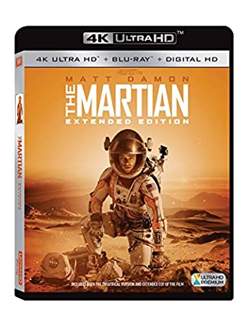 The Martian: Extended Edition (4K Ultra-HD Blu-ray) (Left Behind On Blu Ray)