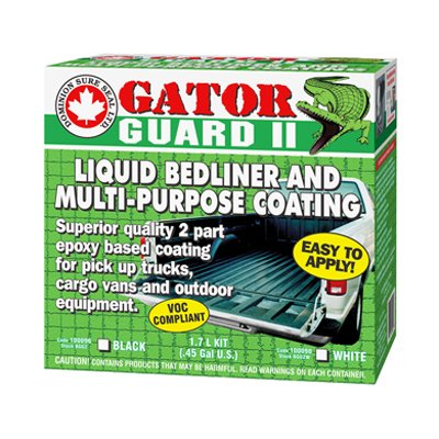 GATOR GUARD II EPOXY LIQUID BEDLINER KIT-WHITE DOMINION SURE SEAL