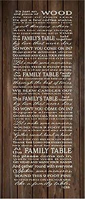 I Wont Be Home For Christmas Lyrics.Amazon Com Bawansign Family Table Lyrics Zac Brown Band