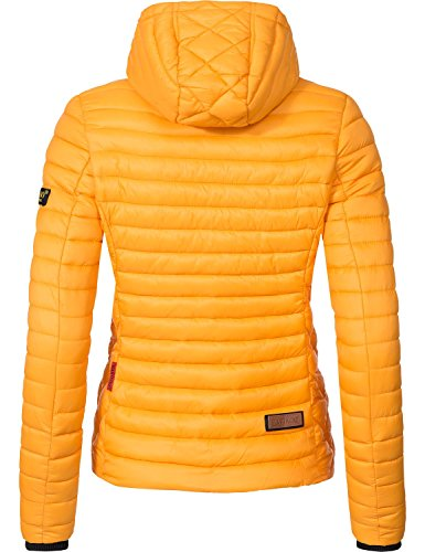 Amarillo Colores para entretiempo 15 Chaqueta de guateada XS mujer Sol Marikoo XXL Samtpfote qwa8PtaA