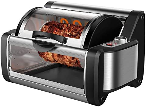 Flexzion Rotisserie Toaster Oven Grill product image