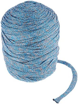 freneci 89-110ydsコードノッティングかぎ針編みロープスレッドウェディングパーティーの装飾DIYリボン - ベージュ