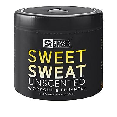 SWEET SWEAT 'Unscented' Workout Enhancing Gel - XL Jar (13.5oz)