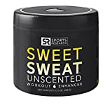 Sweet Sweat 'XL' Jar (13.5oz) | Helps increase circulation, sweating and motivation during exercise | Made in the USA (Unscented)