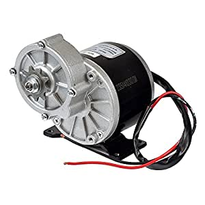 Monster motion 24 volt 350 watt my1016z3 gear for Electric motor with gear reduction