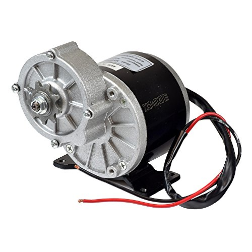Monster Motion 24 Volt 350 Watt MY1016Z3 Gear Reduction Electric Motor with 9 Tooth 1/8