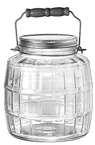 glass barrel jar - 8