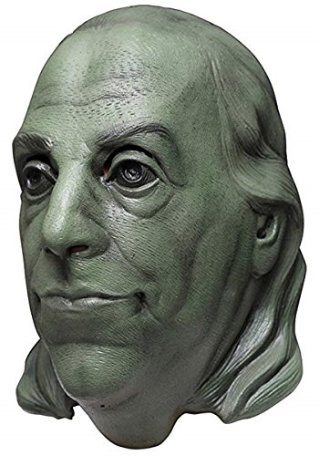 Founding Father Benjamin Franklin Full Halloween Latex History Mask