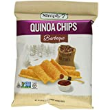 Simply7 Gluten Free Quinoa Chips, Barbeque, 0.8 Ounce (Pack of 24)