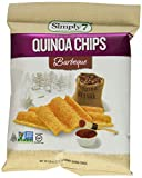 Cheap Simply7 Gluten Free Quinoa Chips, Barbeque, 0.8 Ounce (Pack of 24)