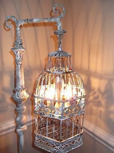 Amazon.com: Chandelier floor Lamp ,vintage chandelier bird
