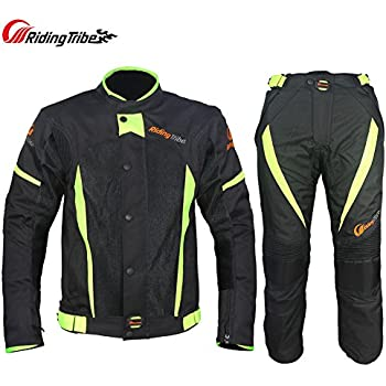 Amazon.com: Riding Tribe JK-37 Motorcycle Racing Suit with