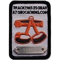 GPS Geocaching T5 Patch (Travelbug) & Geocache