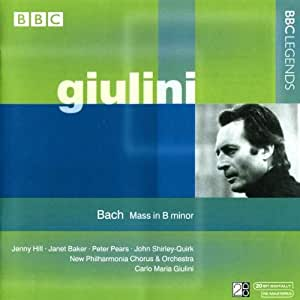 Bach:  Mass in B