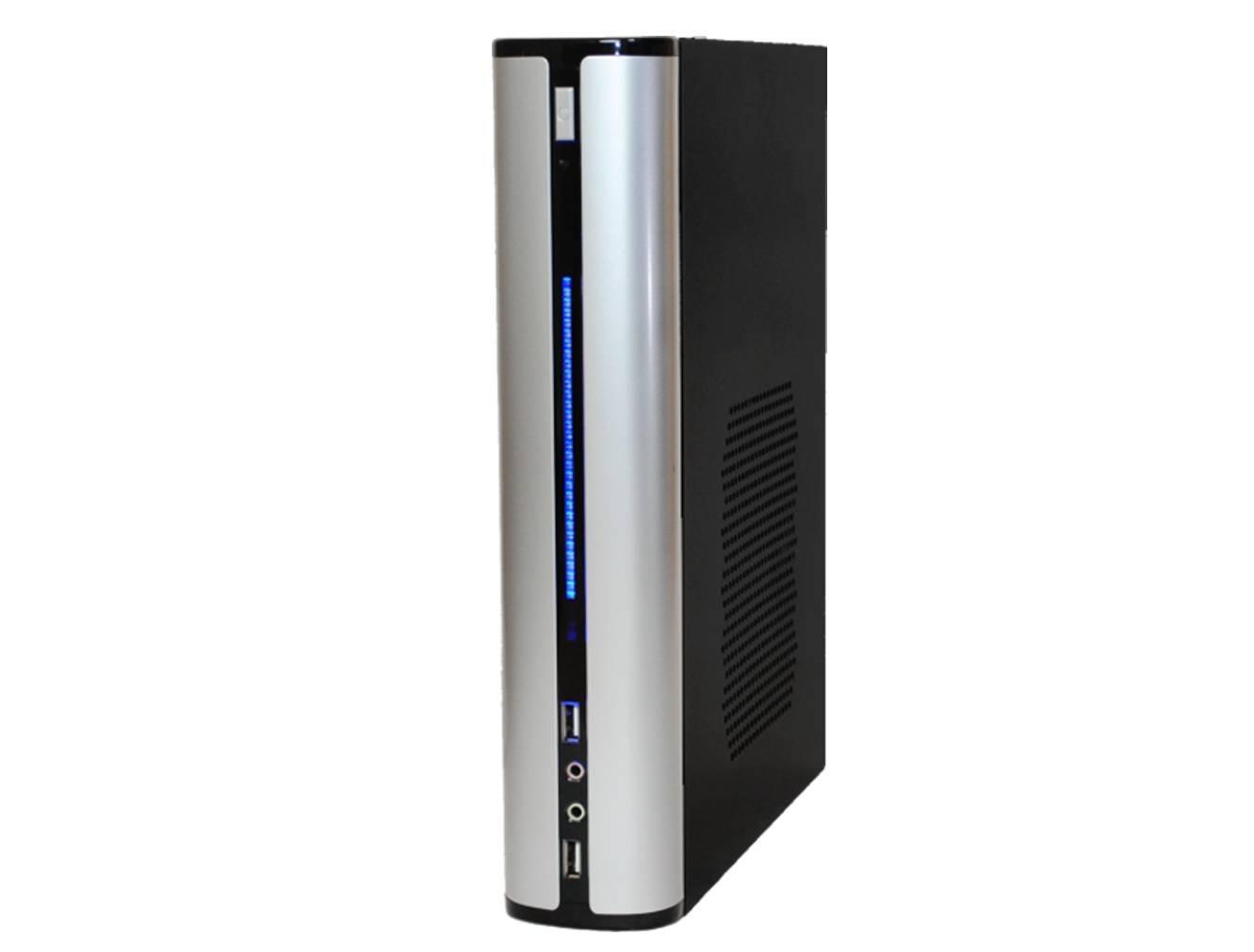 再再販! 【ファンレス電源搭載 メモリ4GB】 SlimPc VP130 シルバー dual core HDD 1TB メモリ4GB HDD Windows10PRO Office シルバー 静音 1年保証 パソコンショップaba B076V86Q5B, ここでいんく:f34f9aa3 --- arbimovel.dominiotemporario.com