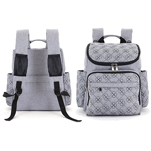 diaper bag backpack with baby stroller straps by hyblom import it all. Black Bedroom Furniture Sets. Home Design Ideas