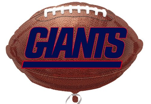 new york giants balloons - 6