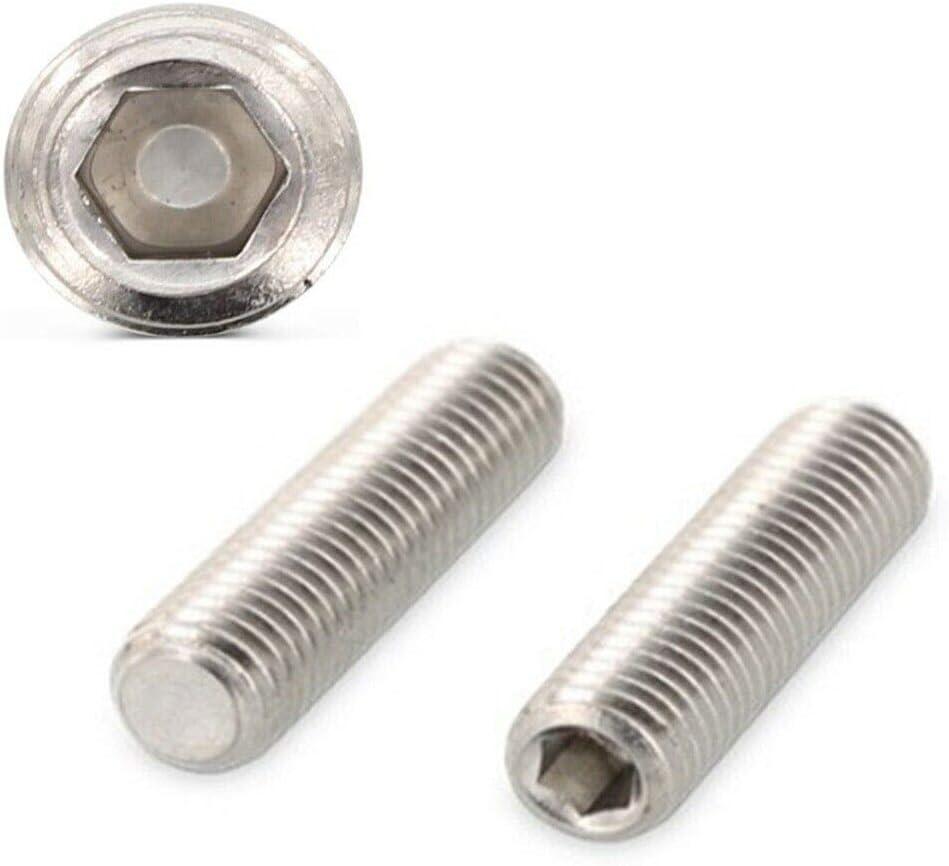 M1,6 x 2-2 St/ück Kiefer24 Gewindestifte Edelstahl A2 Rostfrei DIN 913 ISO 4026 V2A Madenschrauben