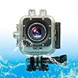 SUNSKY SJCAM M10 Plus Novatek 96660 Ultra HD 2K 1.5 inch LCD Screen Sports Action Camera with Waterproof Case, 170 Degrees Wide Angle Lens, 30m Waterproof ( Color : Silver )