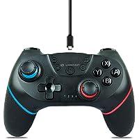 Lioncast Nintendo Switch için kablosuz kumanda, güçlü çift Rumble titreşim, kablosuz anahtar denetleyici/anahtar Pro…