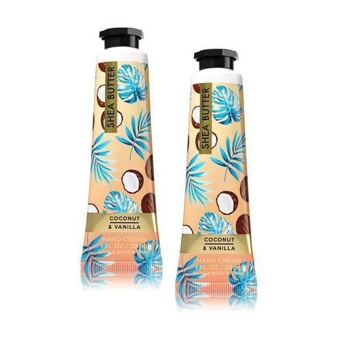 Bath and Body Works 2 Pack Coconut Vanilla Shea Butter Hand