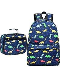 Backpack for Kids Girls School Backpack with Lunch Box Preschool Kindergarten BookBag Set
