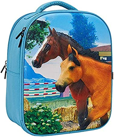 MOJO 3D Horse Club Backpack Playscape Complete Playset Collection with Figurines Designed for Ages 3 Years