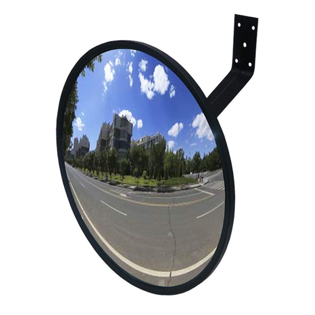 Geng カーブミラー 交通ミラー道路アクリル広角レンズ安全凸面鏡、スーパーマーケット盗難防止ミラーコーナーミラー、衝突防止セーフティミラー   B07TSXF8RK