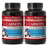 Weight loss help - NATURAL L-CARNITINE 500MG - Carnitine vitamin - 2 Bottle (60 Tablets)