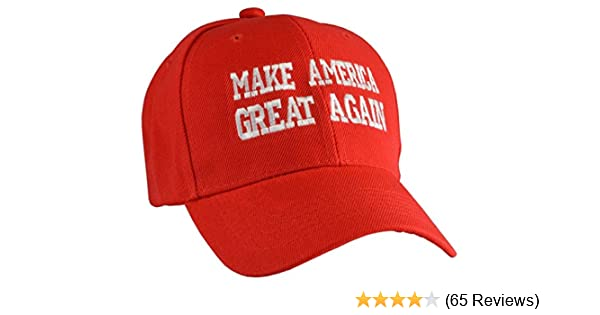 Amazon.com  Make America Great Again Hat - Embriodered Just Like Donald  Trump s  Clothing a3ab3dfb5cbe